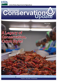 May 2018 Louisiana Conservation Update Cover