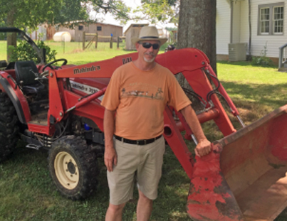 1.	Tim Coleman on his farm in Paulding County, GA