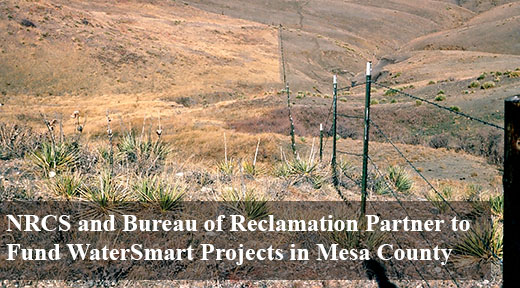 NRCS Bureau of Reclamation Water Smart Project in Mesa County