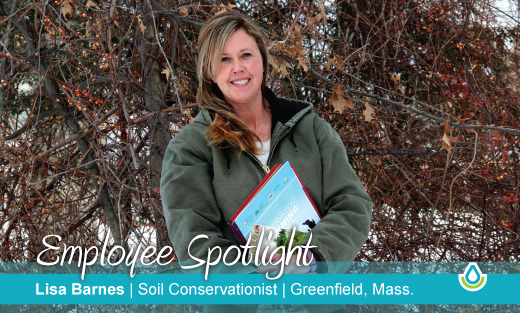 Employee Spotlight: Lisa Barnes, Soil Conservationist