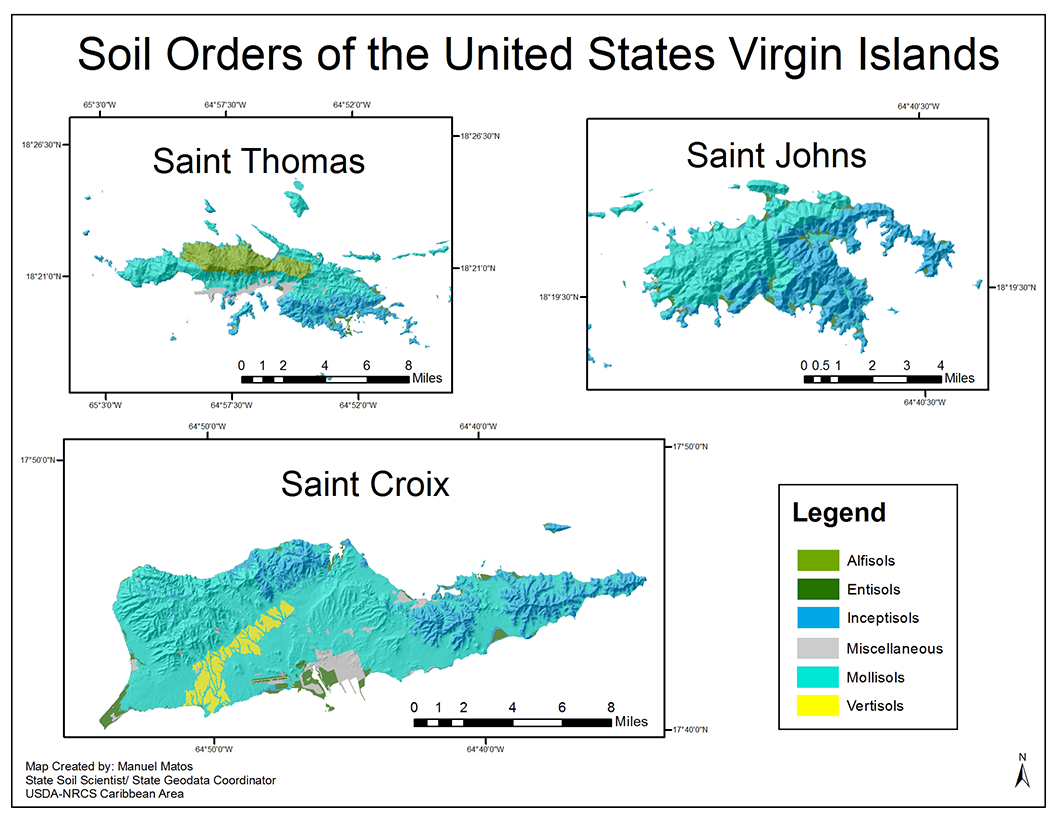 United States Map With Puerto Rico.Soils Nrcs Caribbean Area