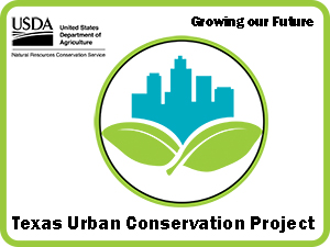 Texas Urban  Conservation Project Sign
