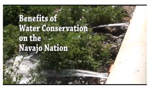 thumbnail of screencap of benefits of water conservation navajo nation youtube video