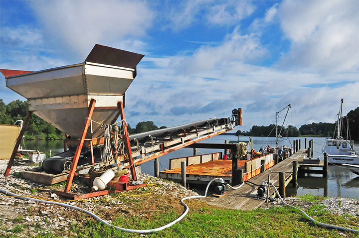Bobby Leonard's Friendship Farm sits on about one mile of waterfront off of Broad Creek, near Deep Neck Point in Talbot County.  This area is home to the historic oyster grounds where one of Leonard's lease areas is located.