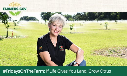 Check out #FridaysOnTheFarm: If Life Gives You Land, Grow Citrus.
