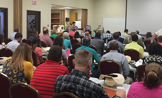 Over 80 employees from across the state attended the diversity training.