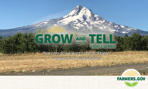 Grow and Tell: Peak Efficiency