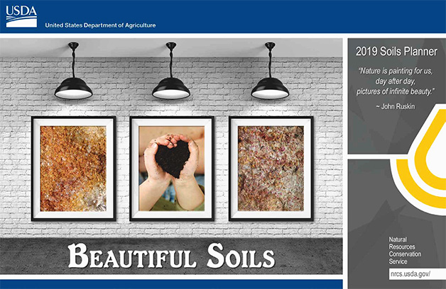 Cover of the 2019 Soils Planner.