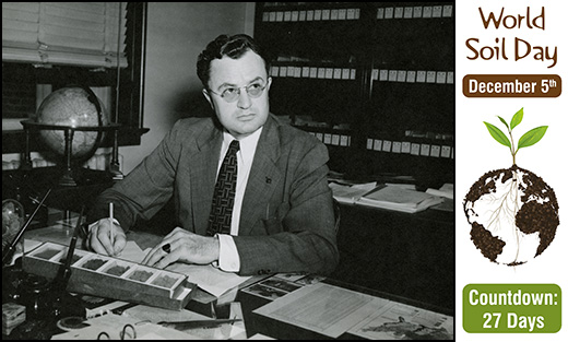 Photo of Charles Kellogg from 1948.