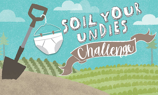 The Soil Your Undies Challenge