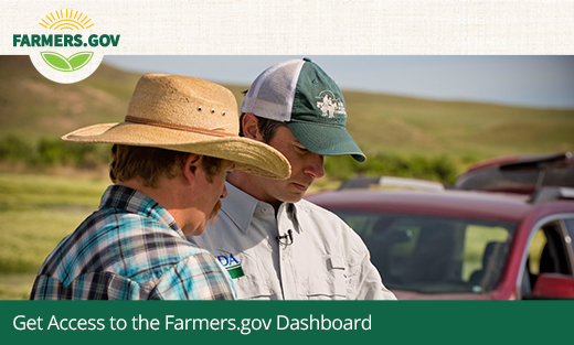 Get Access to the Farmers.gov Dashboard