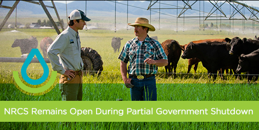 NRCS Open for Business