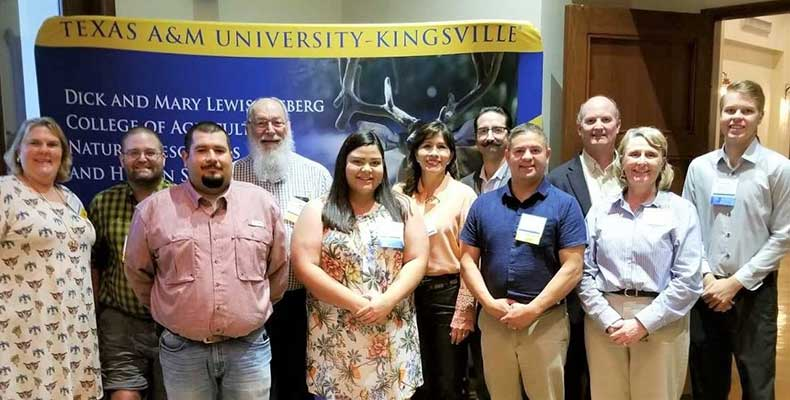 Texas NRCS staff, TAMUK faculty and students after USDA Career Experience presentations.