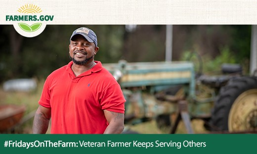 FridaysontheFarm Veteran Farmer Keeps Serving Others