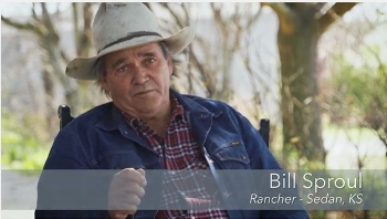 Bill Sproul, Rancher, Sedan, KS