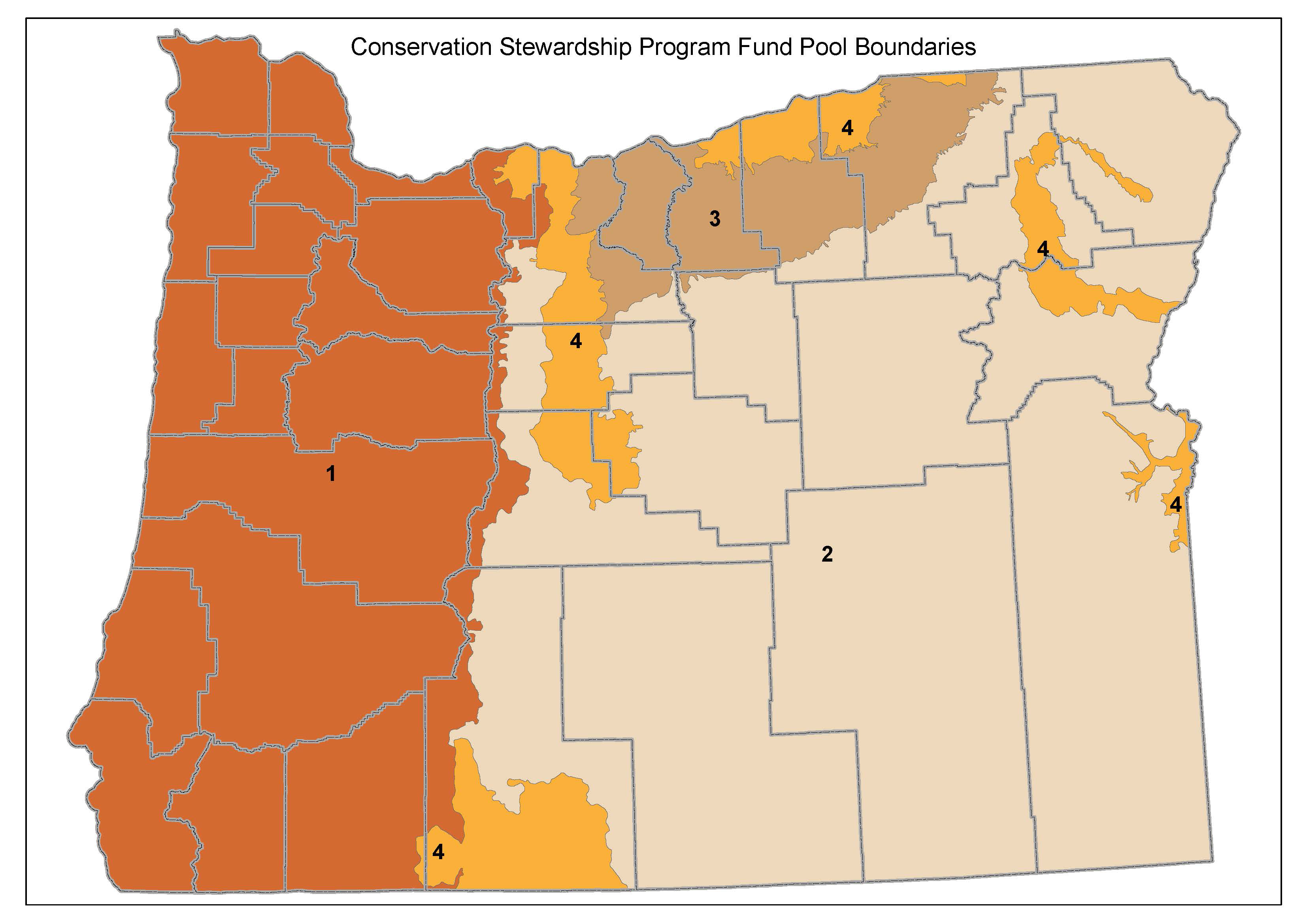 Oregon CSP Zones