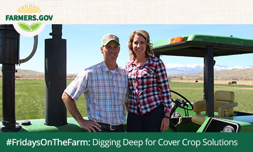 #FridaysOnTheFarm: Digging Deep for Cover Crop Solutions