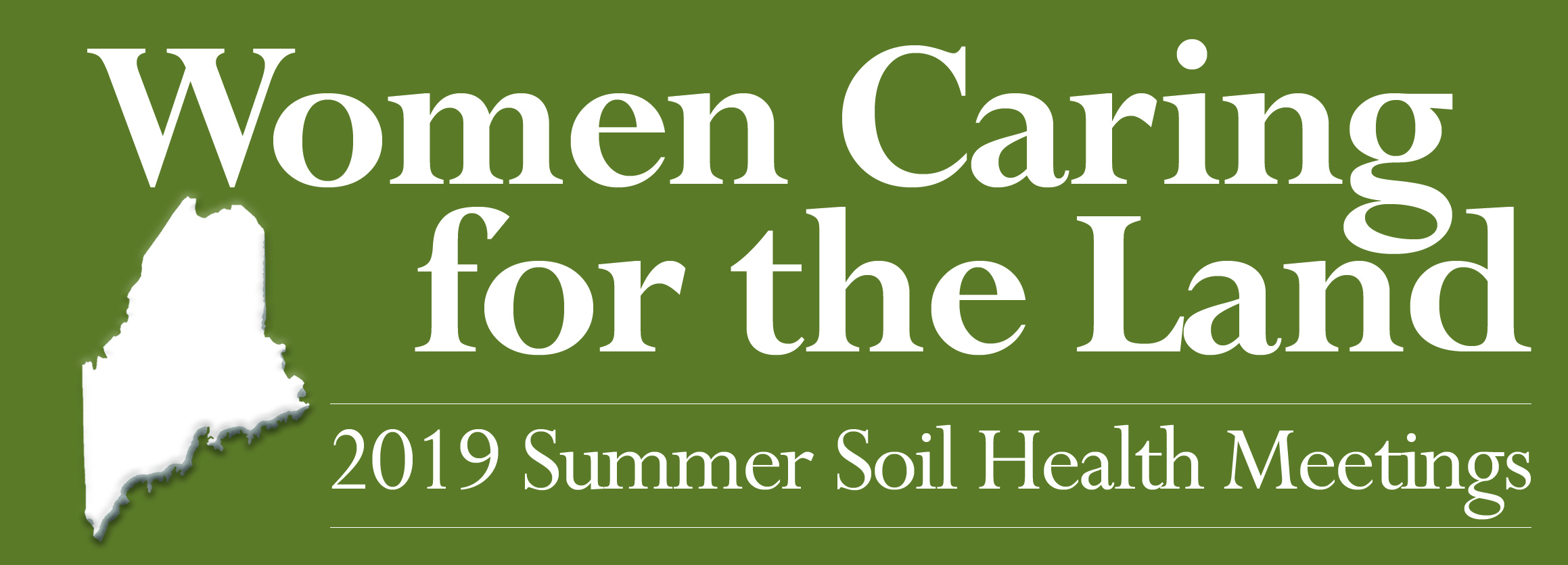 Women Caring for the Land: 2019 Summer Soil Health Meetings