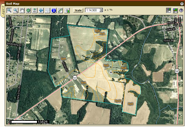Web Soil Survey contains more accurate map layers.