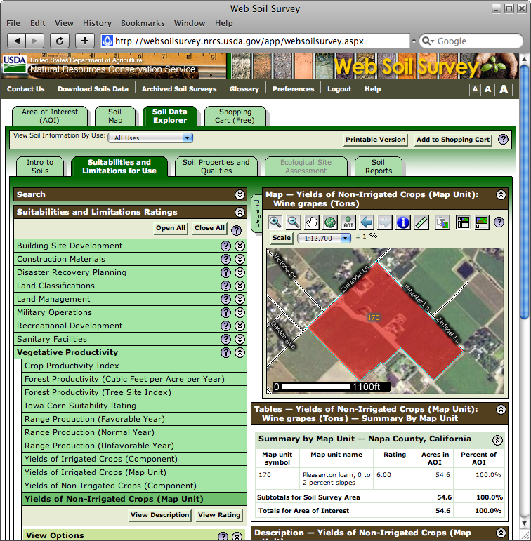 Web Soil Survey now works in Safari and Google Chrome.