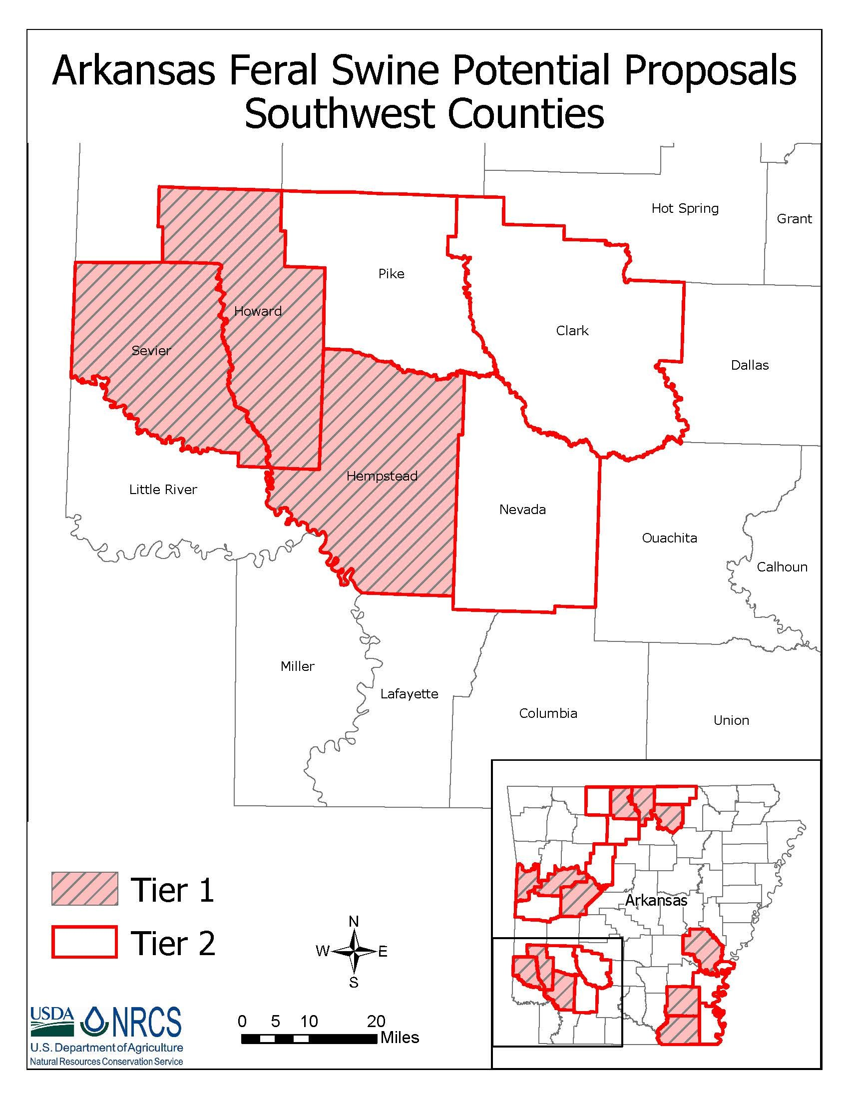 Arkansas Southwest Feral Swine Control Pilot Project | NRCS