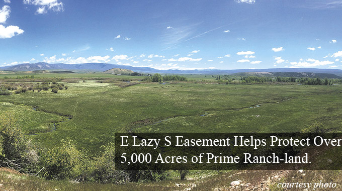 E Lazy S Ranch Easement