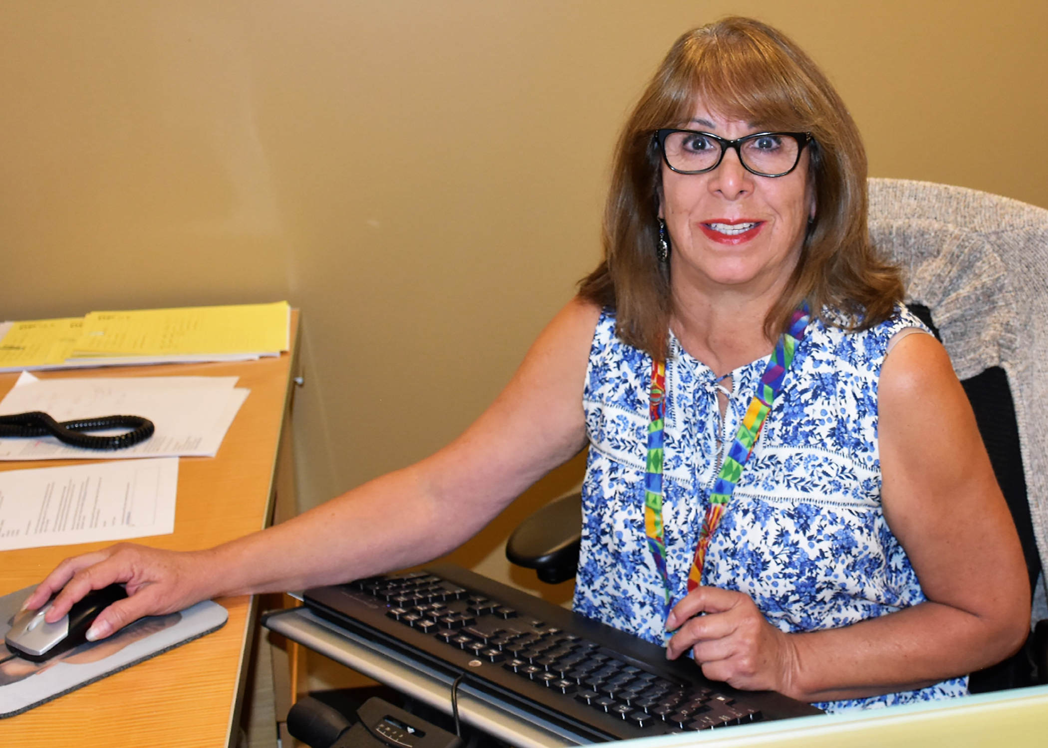 Photo of Doreen Padilla, Administrative Assist for the North Area, New Mexico Employee of the Month for September
