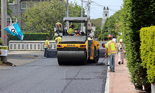 Provincetown porous pavement project