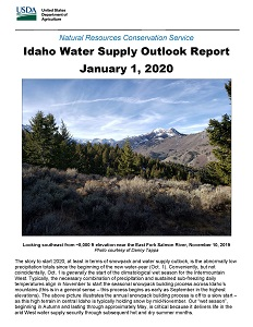 January 2020 Water Supply Report