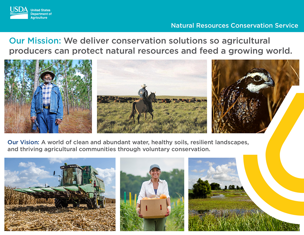 Our mission: we deliver conservation solutions so agricultural producers can protect natural resources and feed a growing world.