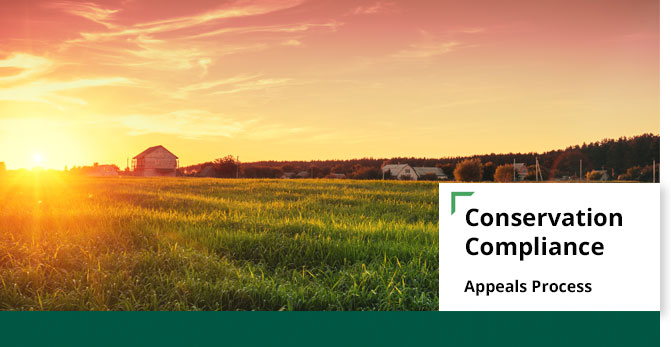 conservation compliance appeals banner