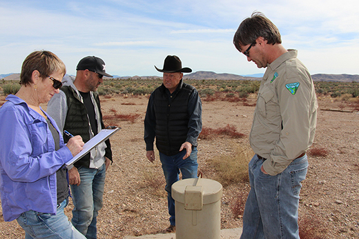 The Newbys, NRCS and BLM join forces for successful conservation on public land