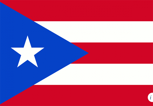 Flag of Puerto Rico--Back Story After Hurricane Maria - The History of Puerto Rico and the United States