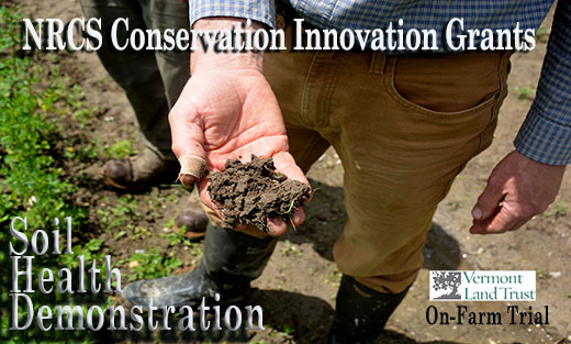 USDA Funds Conservation Innovation in Vermont Through Soil Health Demonstration Trial