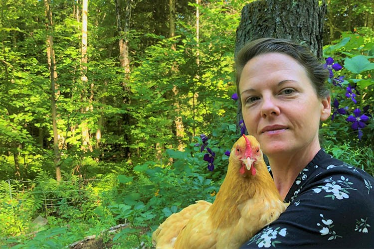 Carissa has a small acreage farm in Montgomery, Vermont, where she and her husband have two purring queens, eight feathered clucking ladies, one bouncing bunny friend and one that likes to crow all parts of the day! Carissa's goal is to be able to produce 1/3 of their annual food needs on their prop