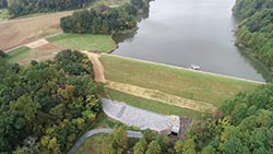 PA 436F Hiberna Dam Aerial Photo