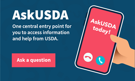 Ask USDA a question.