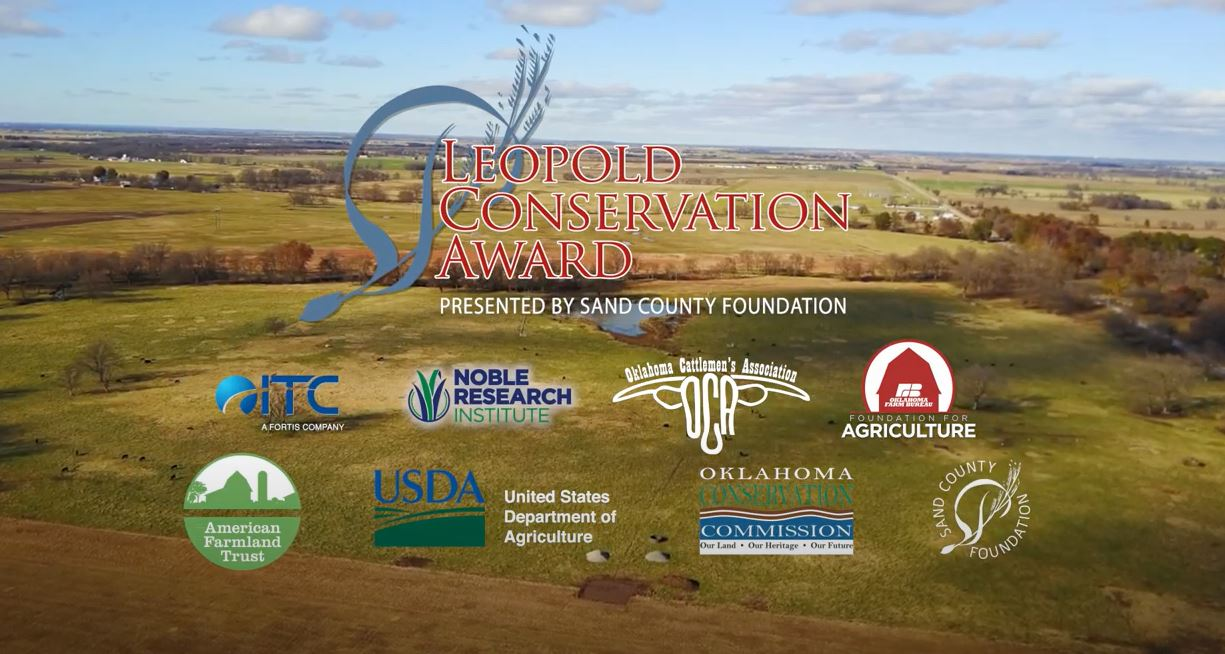 2020 Oklahoma Leopold Conservation Award - Victor Ranch
