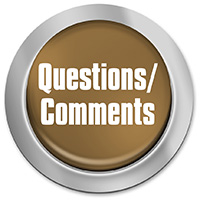 Button for questions/comments.