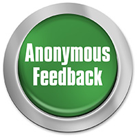 Button for anonymous feedback.
