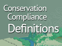 conservation compliance definitions ad