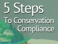 5 steps to meet conservation compliance