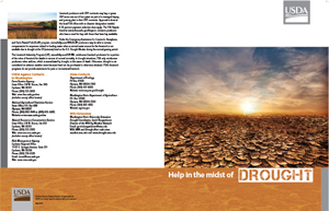Team USDA Drought Assistance Image