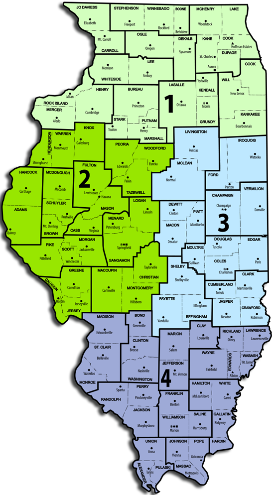 IL 2015 Area Map