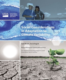 Climate Change Social Considerations