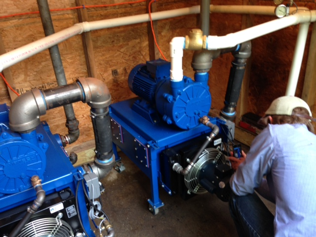 Vacuum Pumps Reduce Energy Needed For Maple Syrup