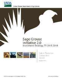 Thumbnail of 2015 Sage Grouse report