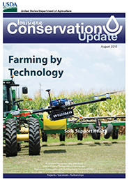 August 2015 Conservation Update Cover