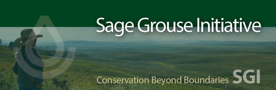 Sage Grouse Initiative 2.0 banner graphic