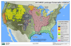 2015 Landscape Initiatives Map thumbnail
